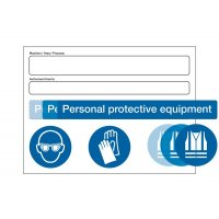 PPE At Point of Need' Signs (MAP Authorised Users Kit)