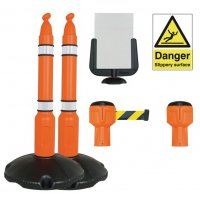 Durable Skipper™ Winter Barrier Sign Kits
