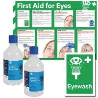 Eye Wash, Sign and Poster Bundles