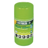 Dirteeze Glass And Plastic Wipes