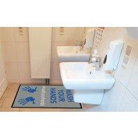 Wash Your Hands - Social Distancing Floor Mat