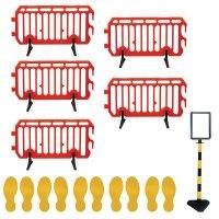 Social Distancing - Safety Barrier & Floor Marking Kit