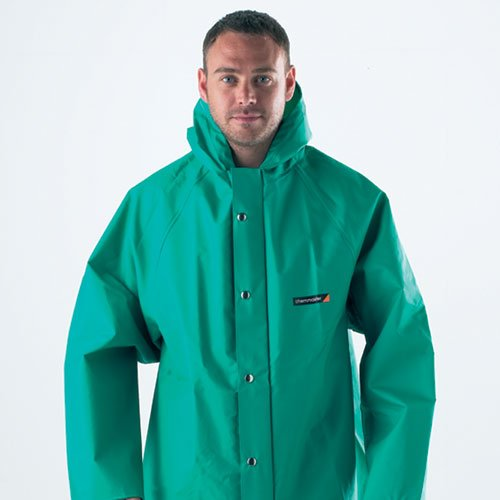 High protection hazardous chemical-resistant clothing from Chemmaster - CHEMICAL RESISTANT CLOTHING & COVERALLS