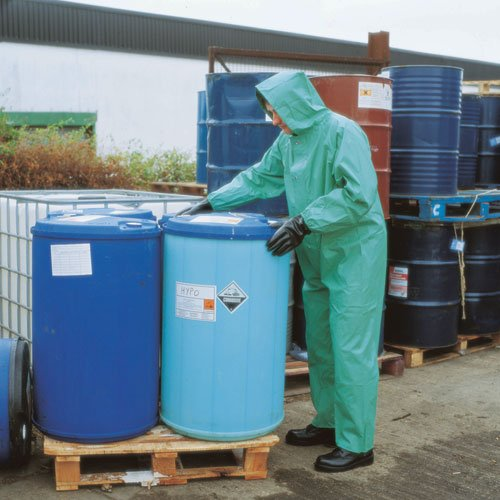 High protection hazardous chemical-resistant clothing from Chemmaster - 9