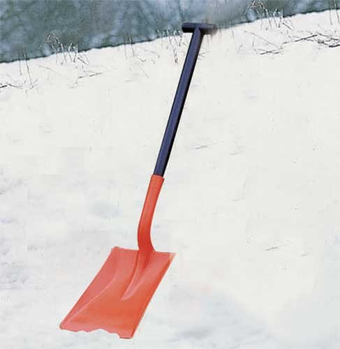 Two Part Car Snow Shovel - Site Safety
