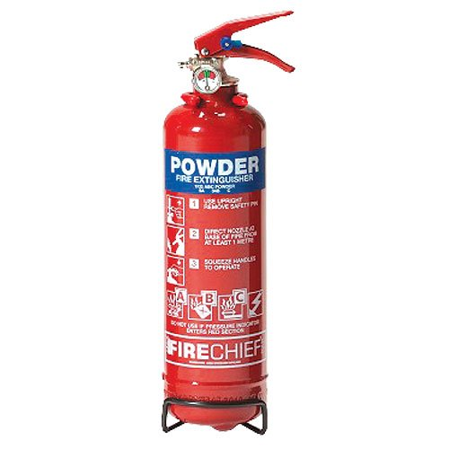 Class ABC Powder Red Fire Extinguisher - Fire Safety Equipment