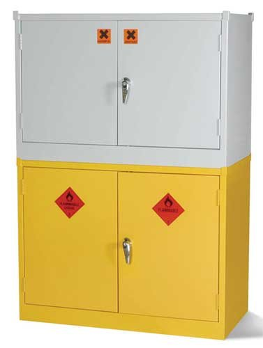 Regulation COSHH Stackable Storage Lockers - 10