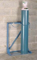 Single-Sided Cylinder Floor Stands - Cylinder Storage & Handling