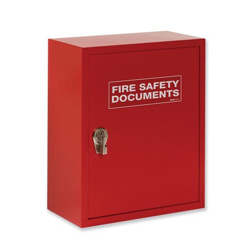 Secure cabinet for fire documents - Fire Safety Equipment