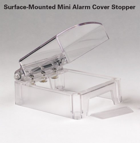 Clear Polycarbonate Mini Fire Alarm Call Point Cover - Fire Safety Equipment