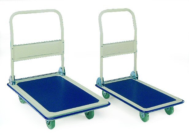 Pressed Steel Folding Platform Trolleys - Platform Trucks & Trolleys