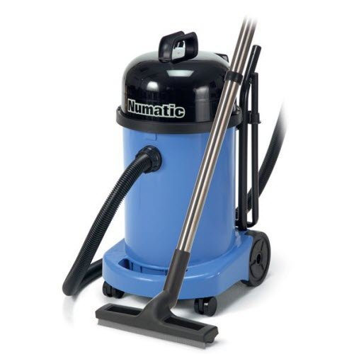 Easy-to-Move Numatic Wet And Dry Industrial Vacuums - INDUSTRIAL VACUUM CLEANERS