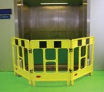 JSP 3-Gate Polypropylene Folding Work Barriers - 'A' Boards & Barriers