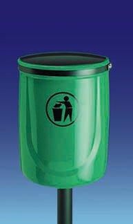 Durable, Sturdy 2m Post for Osprey Litter Bins - Waste Bins