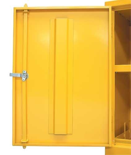Bright yellow mini storage cabinets for flammable liquids - 10