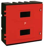 Polyethylene Fire Extinguisher Cabinets - FIRE EXTINGUISHERS, CABINETS & STANDS