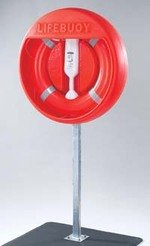 30-Inch or 24-Inch Water Rescue Lifebuoy Ring and Accessories