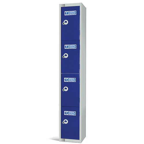 Durable PPE Tiered Workplace Locker System - PPE STORAGE