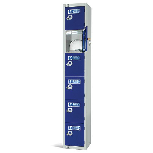 Durable PPE Tiered Workplace Locker System - 9