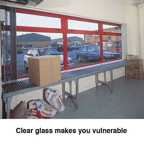 Adjustable Opaque Privacy Film For Windows - Window Films