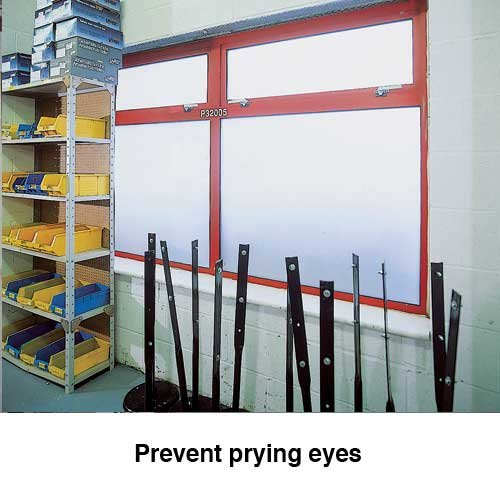 Adjustable Opaque Privacy Film For Windows - Security