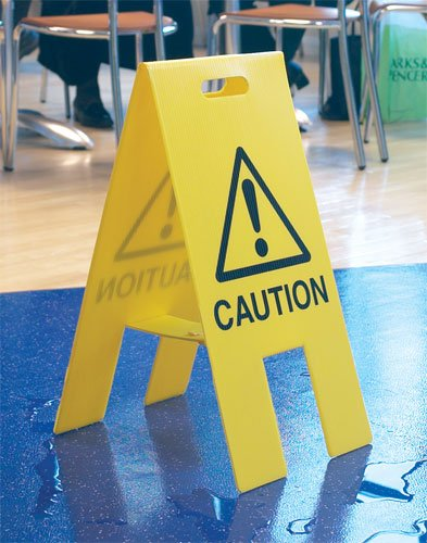 'A' Board Floor Stands - Cleaning Products