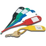 Reusable Moulded Plastic Key Tags - Key Cabinets & Accessories