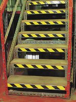 Durable overlaminated OSHA warning tape with pattern and colour options - Aisle Marking & Barricade Tapes