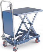 Single Scissor Lift Tables - Sack Trucks & Pallets Trucks