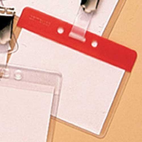 Multicoloured Plastic Badge Pocket Holders - ID BADGES, VISITOR MANAGEMENT & ACCESSORIES