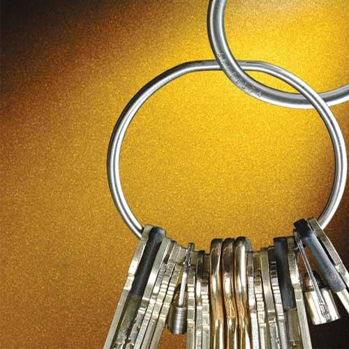 Key-securing tamper-proof keyrings - Security
