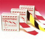 Superstrong scratch-resistant plastic barrier tape rolls - Aisle Marking & Barricade Tapes