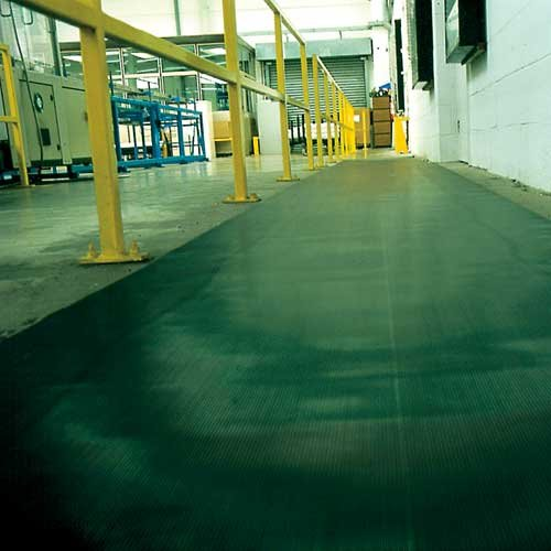 Fine Fluted Mat - Site Safety
