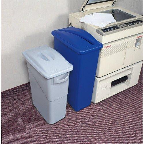 Smart, slimline workplace recycling bins - 10