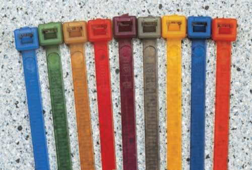 Colour-Coded Nylon Ties - Cable Management