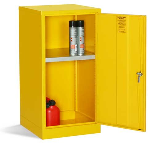 Stable and Secure COSHH-compliant Flammable Liquid Storage Cupboards - COSHH Control