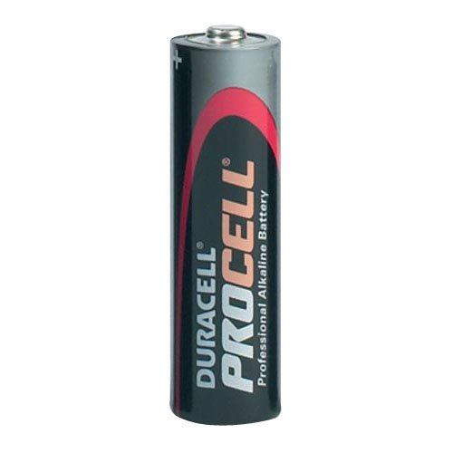 Long lasting Duracell Procell industrial batteries - Site Safety