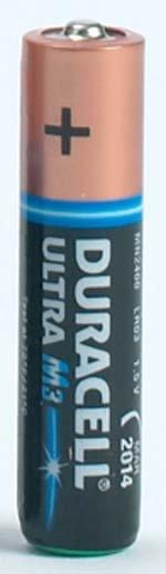 BATTERIES - DURACELL ULTRA M3
