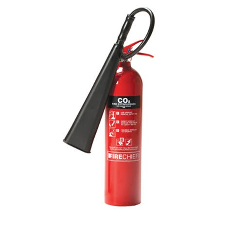 NON-TOXIC CARBON DIOXIDE FIRE EXTINGUISHER