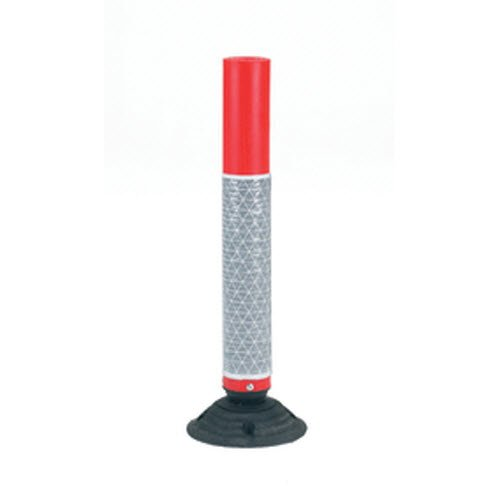 MOULDED PLASTIC SPRING-BACK HIGHWAY BOLLARDS