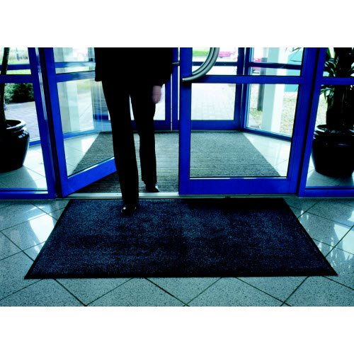 Durable 9 mm thick indoor entrance launder mat - Site Safety