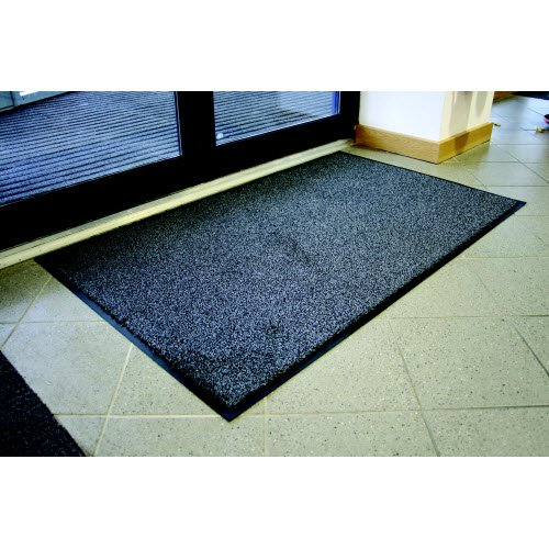 Durable 9 mm thick indoor entrance launder mat - Matting
