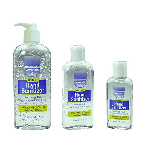 Economical Water-Based Hand Sanitiser Gel - Cheap First Aid Kits & Supplies