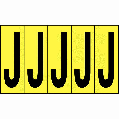 Vinyl Cloth Letters J 51mm - Stock Clearance - Everything Must Go!