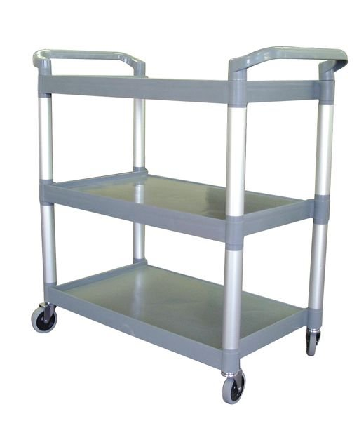 Strong Plastic Service Catering Trolleys - Cleaning Trolleys