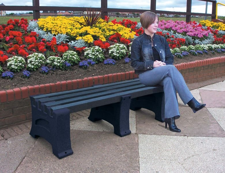 Stone Effect Heavy-Duty Benches