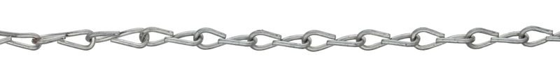 Rust and corrosion reduced zinc-plated Steel Jack Chain