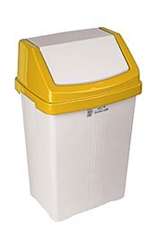 COLOUR CODED WASTE MANAGEMENT SWING BINS - Indoor Bins