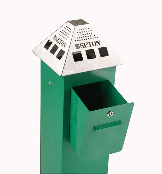 Sentinel External Cigarette Bins - Cigarette Bins & Ashtrays