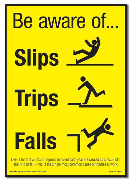 Beware of Slippery Surface
